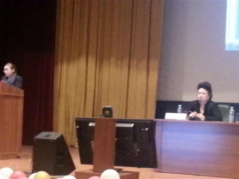 Выступление ведущей семинара А.А. Вавиловой