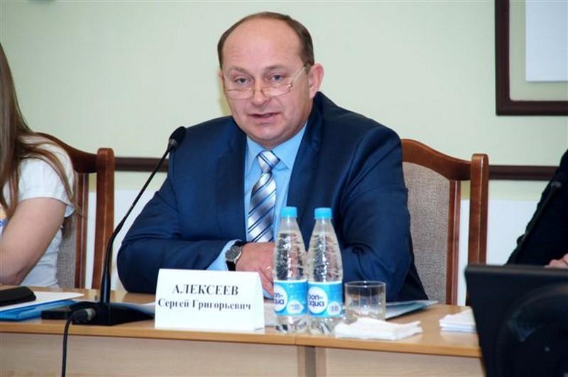 Министр образования Омской области С.Г.Алексеев