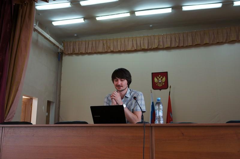 Ведущий семинара П.В. Деркачев
