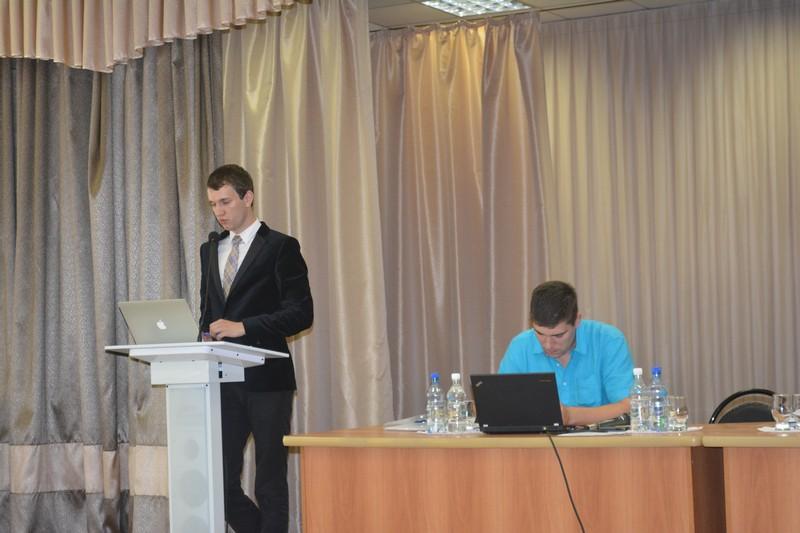 Выступление ведущего С.П.Постылякова