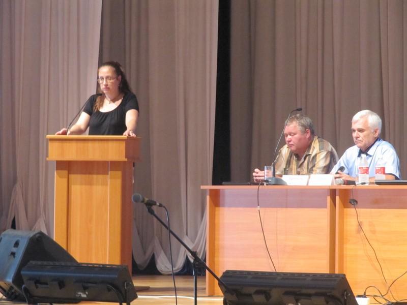 Выступление Е.Г.Тишиной, первого заместителя начальника Департамента образования Белгородской области