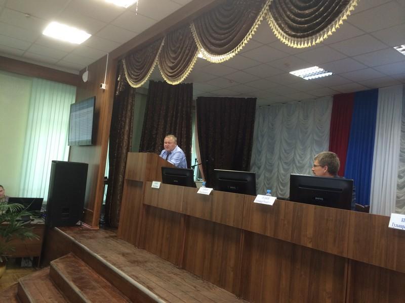 Проректор по научной и инновационной работе ГАОУ ДПО ИРО РБ А.М.Рудаков, ведущий семинара И.В.Ванюков