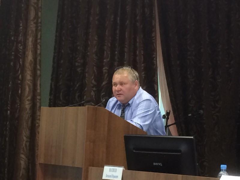 Выступление ведущего семинара И.В.Ванюкова