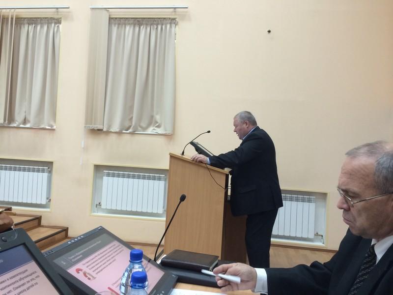 Выступление ведущего семинара И.В. Ванюкова