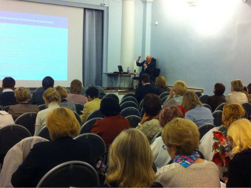 Ведущий семинара М.В. Дулинов, участники семинара