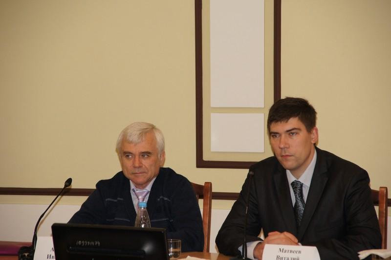 Ведущие семинара А.И. Ломов и В.Ю. Матвеев