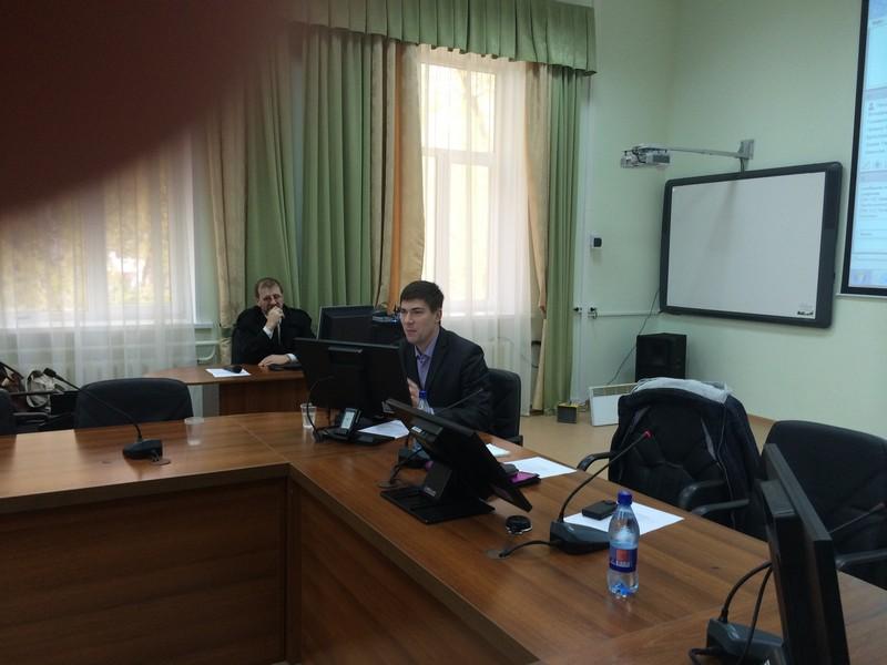 Выступление ведущего семинара В.Ю.Матвеева